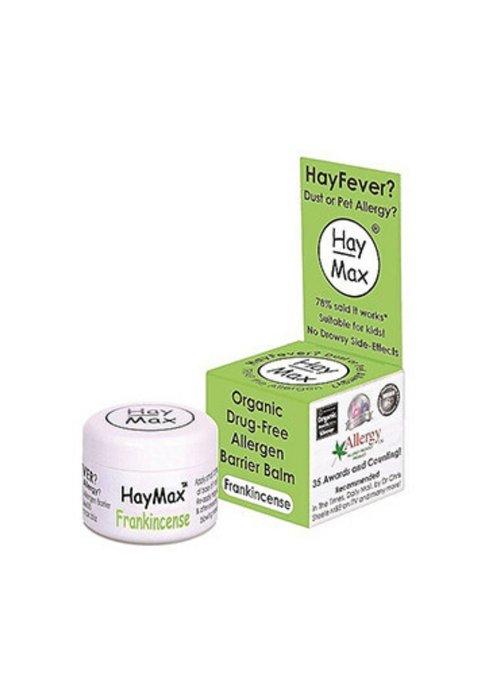 Haymax Organic Drug Free Allergen Barrier Balm - Frankincense 5ml