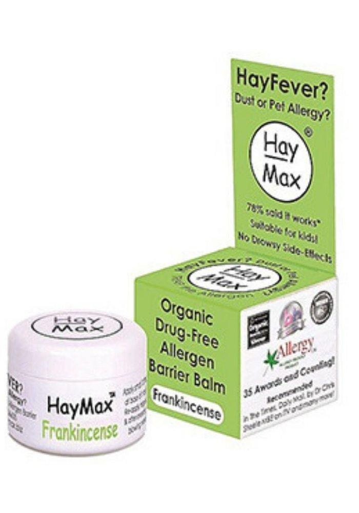 Organic Drug Free Allergen Barrier Balm - Frankincense 5ml