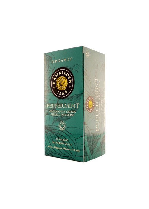 Hambleden Tea Organic Peppermint Tea 20 Bags