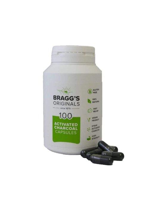 Braggs Charcoal 100 caps