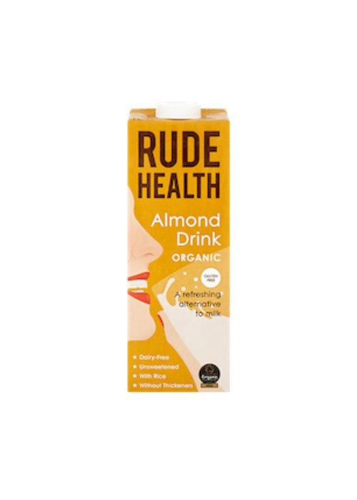 Rude Health Almond Drink: Organic