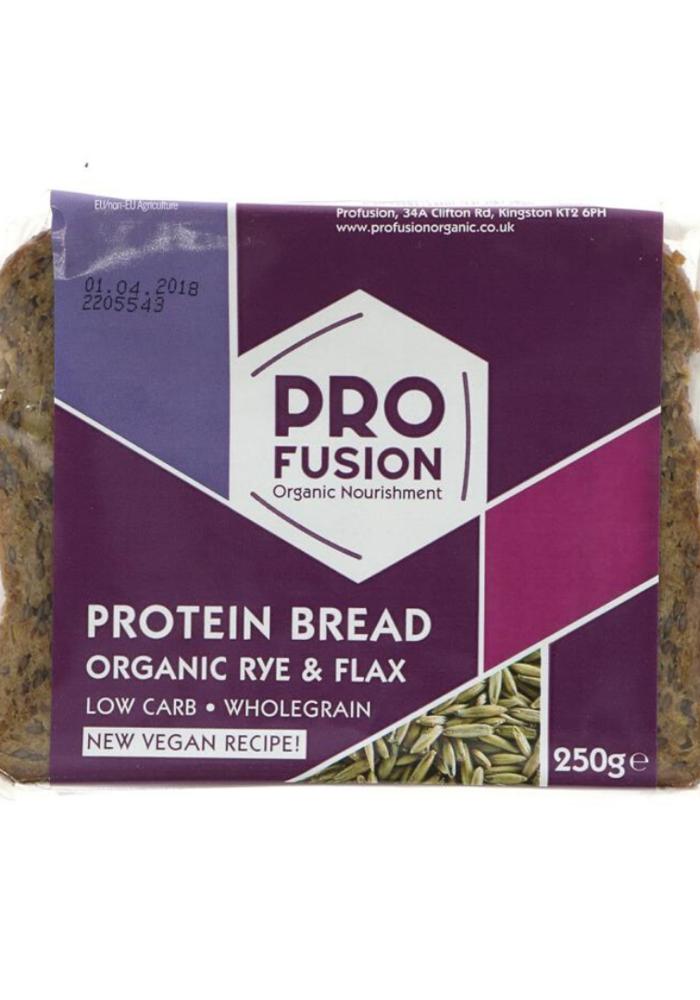 Rye/Flax Protein Bread