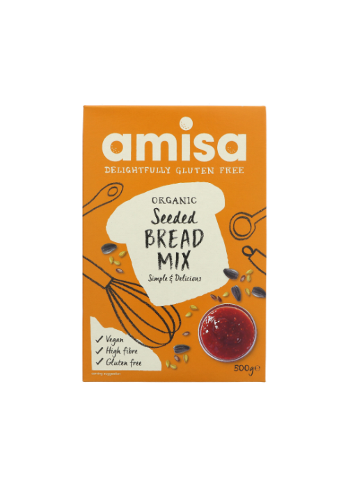 Amisa Bread Mix: Seeded