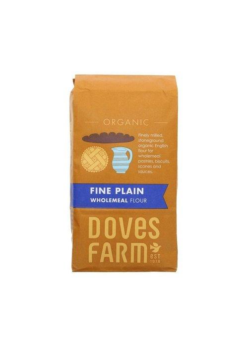 Doves Farm Fine Plain Wholemeal Flour