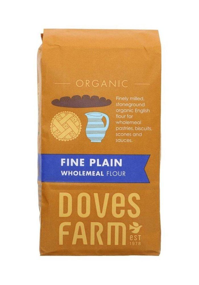 Fine Plain Wholemeal Flour 1kg