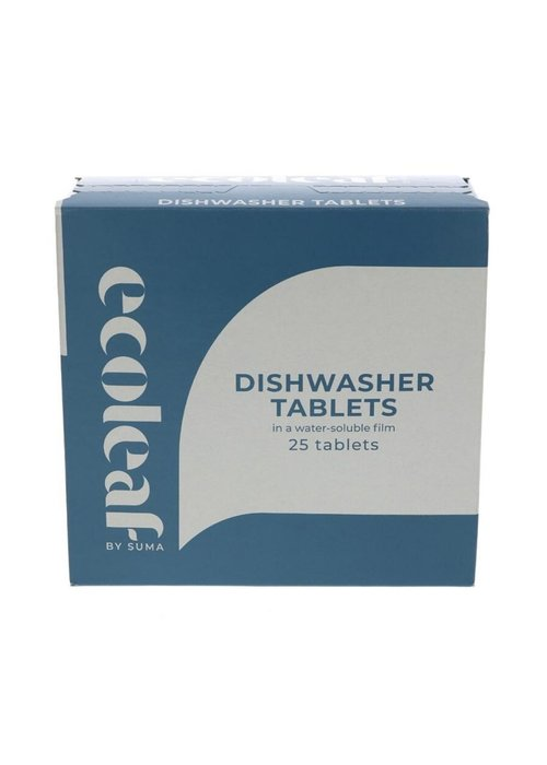 Ecoleaf Dishwasher Tabs - 25