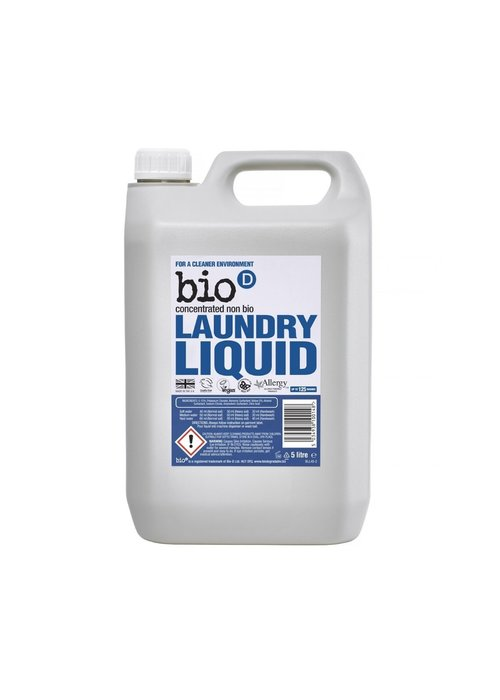 Bio-D 5ltr Laundry Liquid: