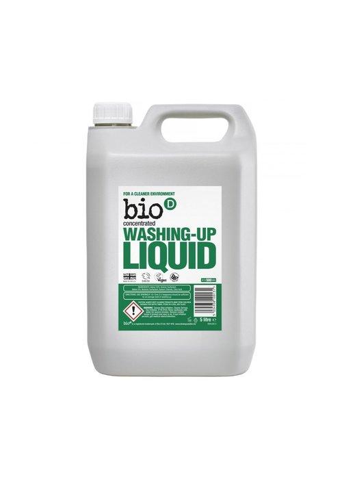 Bio-D 5ltr Washing-up Liquid: Fragrance Free