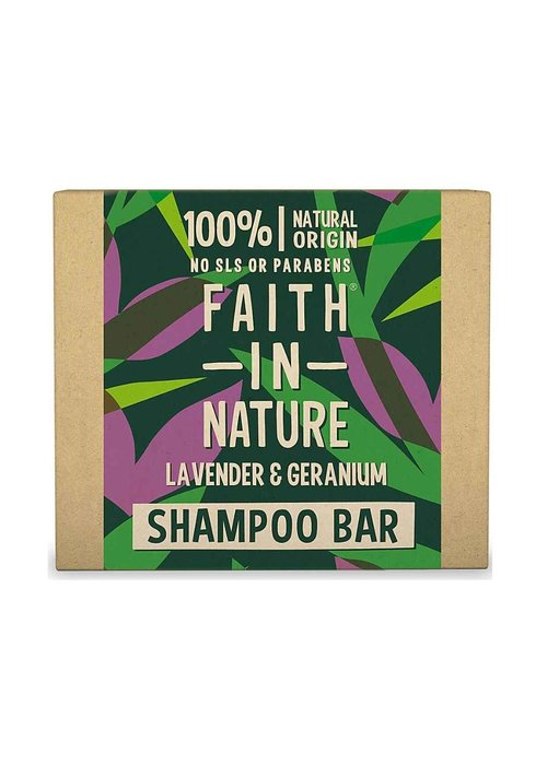 Faith In Nature Shampoo Bar: Lavender & Geranium