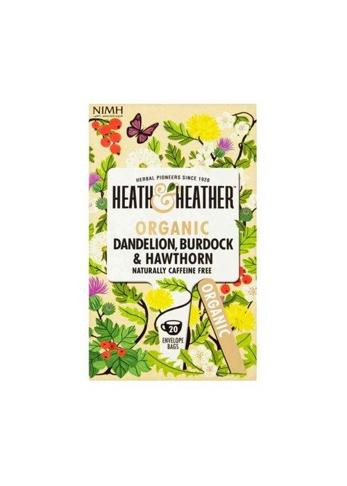 Heath and Heather Tea Organic Dandelion & Burdock  Tea 20 Bags