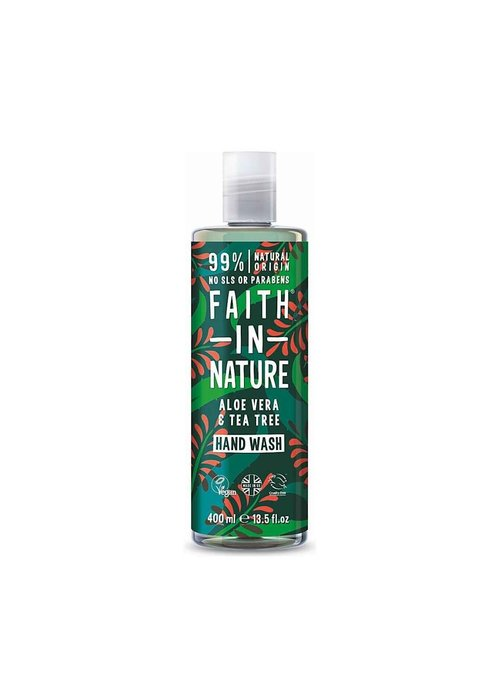 Faith In Nature Hand Wash: Aloe 400ml