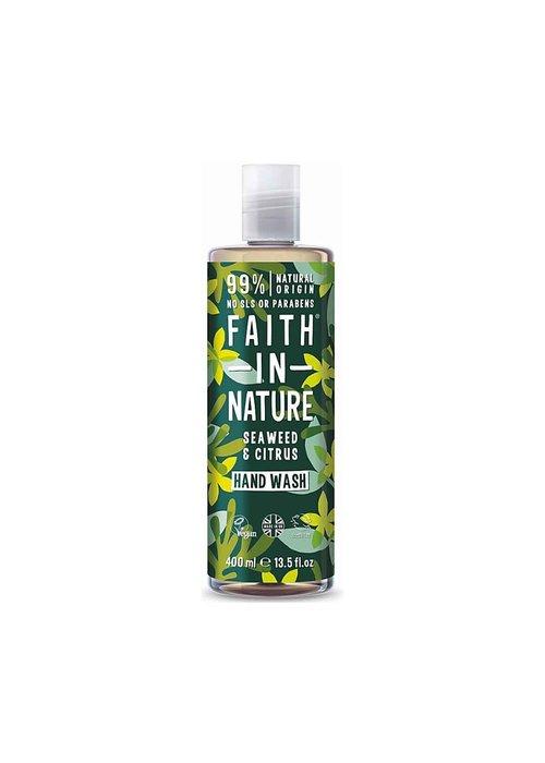 Faith In Nature Hand Wash: Seaweed 400ml