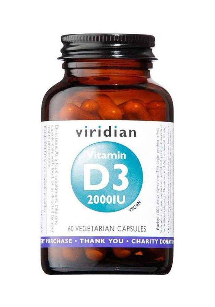 Vitamin D3 (Vegan) 2000iu 60 caps
