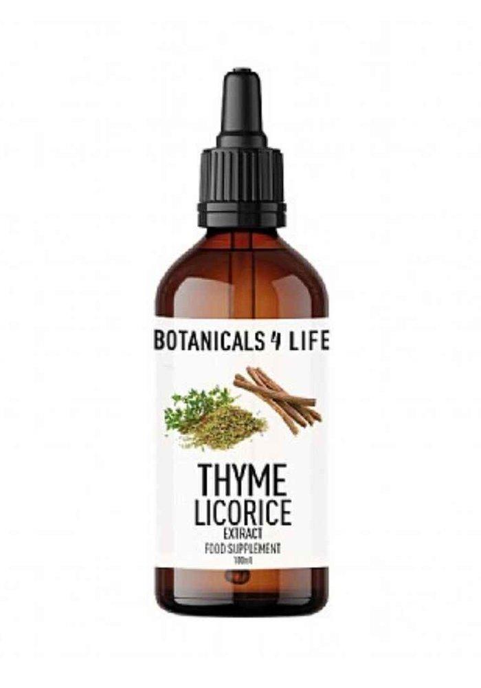 Tincture: Thyme & Licorice