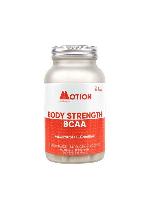 Motion Nutrition BCAA Body Strength 120 caps