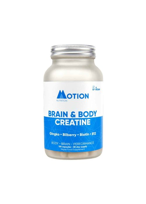 Motion Nutrition Creatine: Brain & Body 120 caps