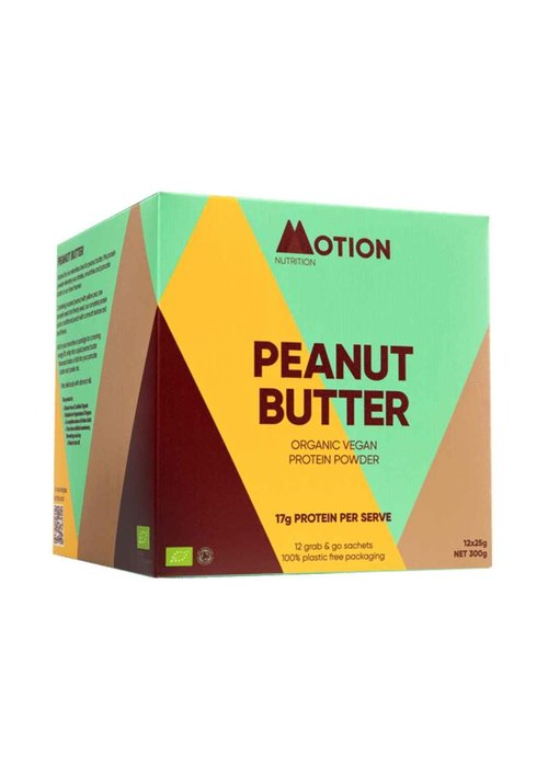 Motion Nutrition Protein Shake: Peanut Butter