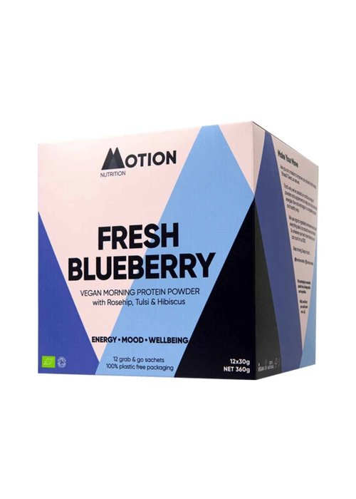 Motion Nutrition Protein Shake: Blueberry