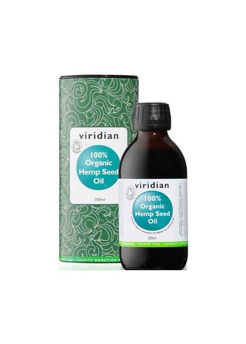 Viridian 100% Organic Hemp Seed Oil