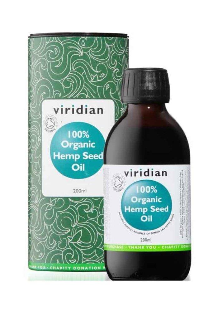 100% Organic Hemp Seed Oil