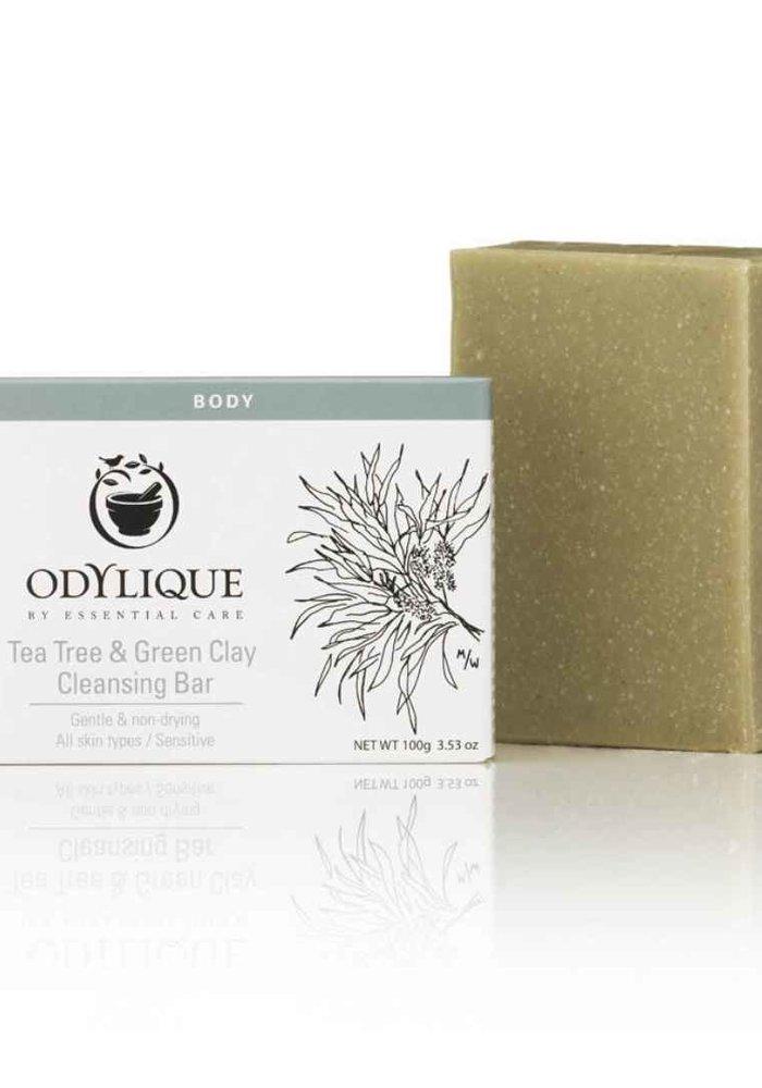 Cleansing Bar -Tea Tree & Green Clay: Organic