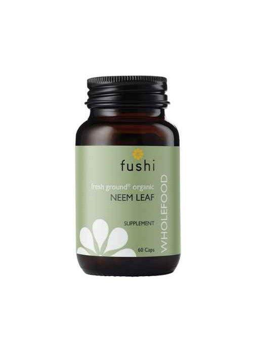 Fushi Neem Leaf Capsules, Organic 60 caps