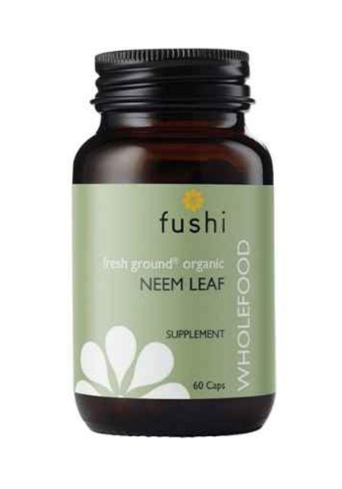 Neem Leaf Capsules, Organic 60 caps