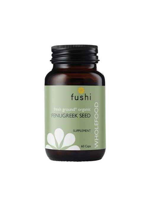 Fushi Fenugreek Seed Capsules, Organic 60 Caps