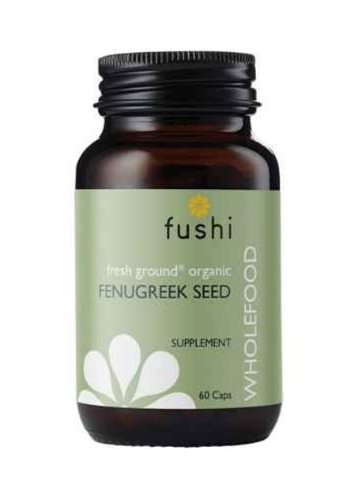 Fenugreek Seed Capsules, Organic 60 Caps