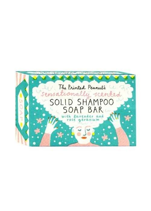 The Printed Peanut Artisan Shampoo Soap Bar