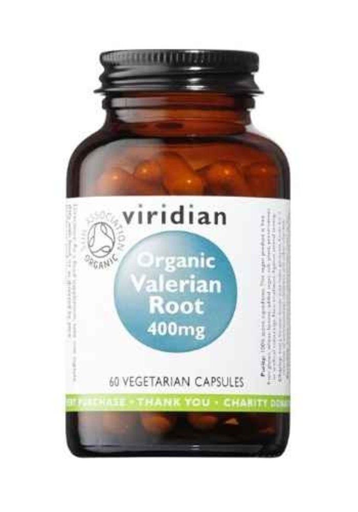 Organic Valerian Root 400mg 60 caps