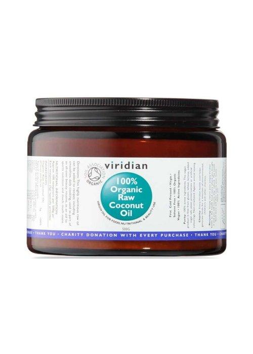 Viridian 100% Organic Raw Virgin Coconut Oil