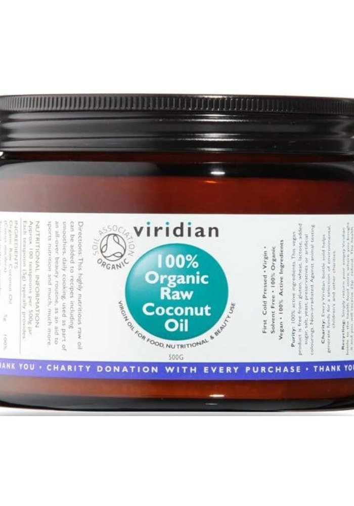 100% Organic Raw Virgin Coconut Oil