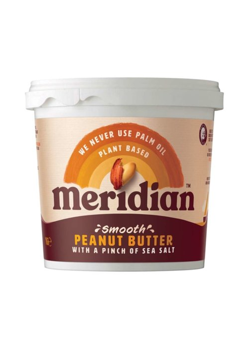 Meridian Peanut Butter - Smooth with a pinch of salt 1kg