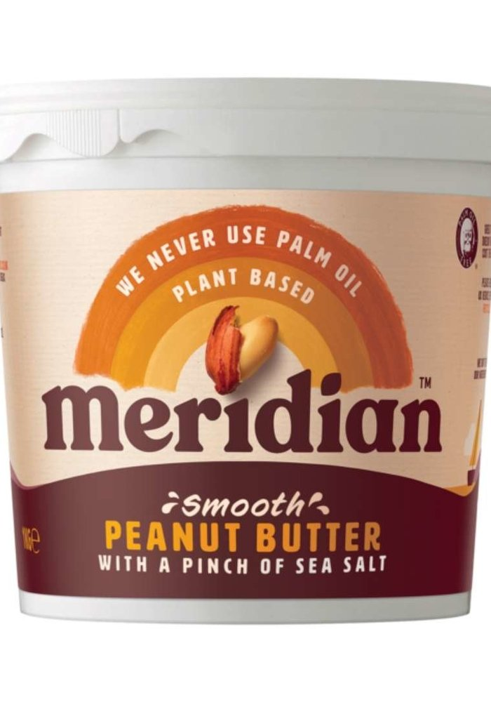 Peanut Butter - Smooth with a pinch of salt 1kg