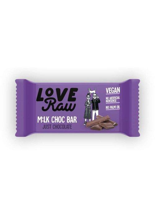 Love Raw M:lk Choc Bar