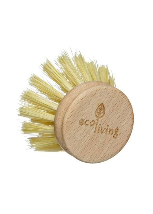 Ecoliving Wooden Dish Brush - Replacement Head