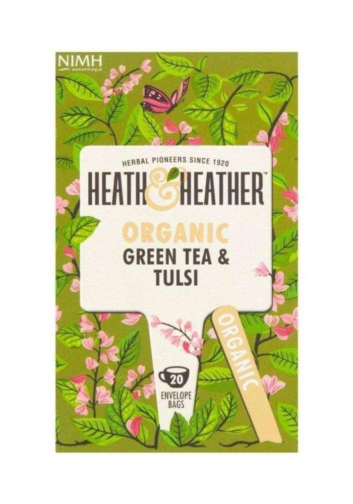 Green Tea & Tulsi - Organic