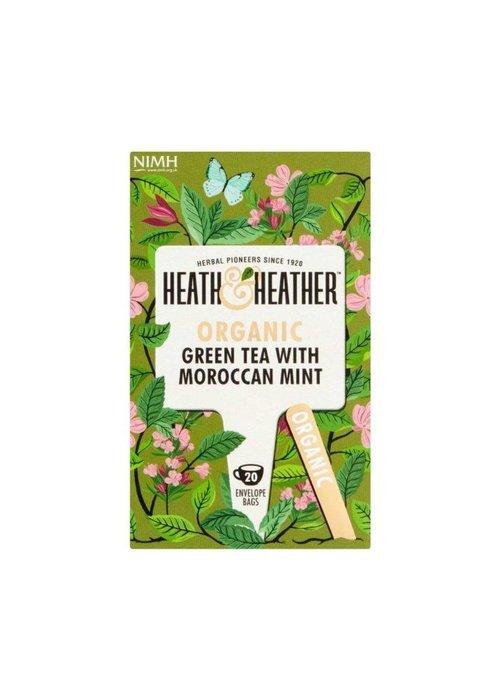 Heath and Heather Green Tea & Moroccan Mint - Organic