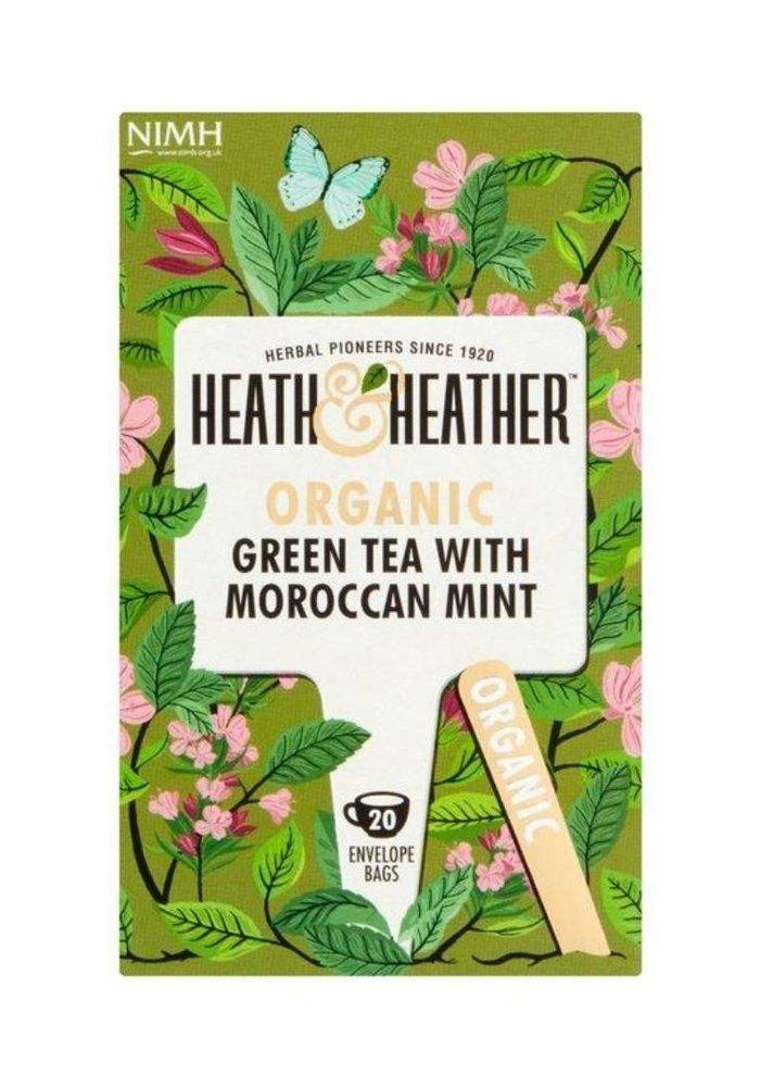 Green Tea & Moroccan Mint - Organic