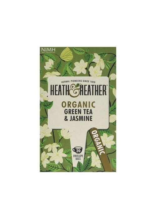 Heath and Heather Green Tea & Jasmine - Organic