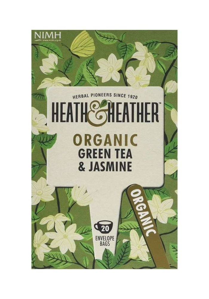 Green Tea & Jasmine - Organic