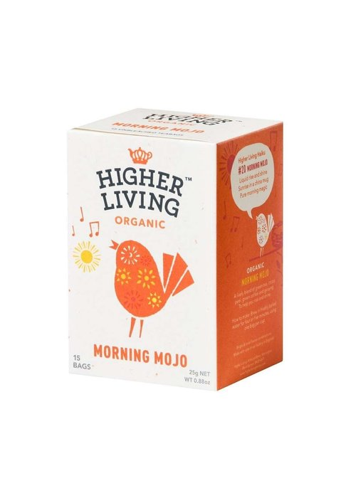 Higher Living Morning Mojo Organic Tea