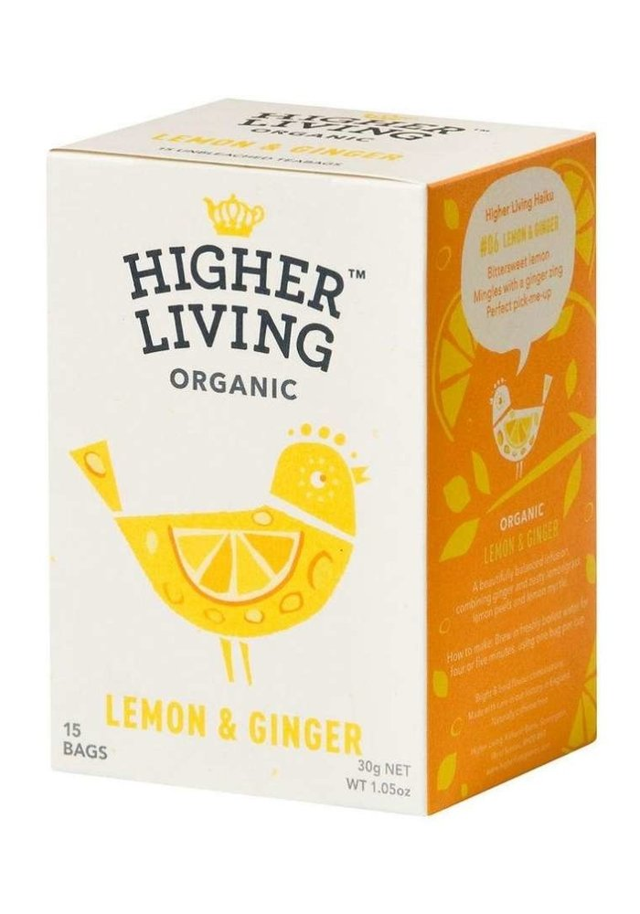 Lemon & Ginger Organic Tea