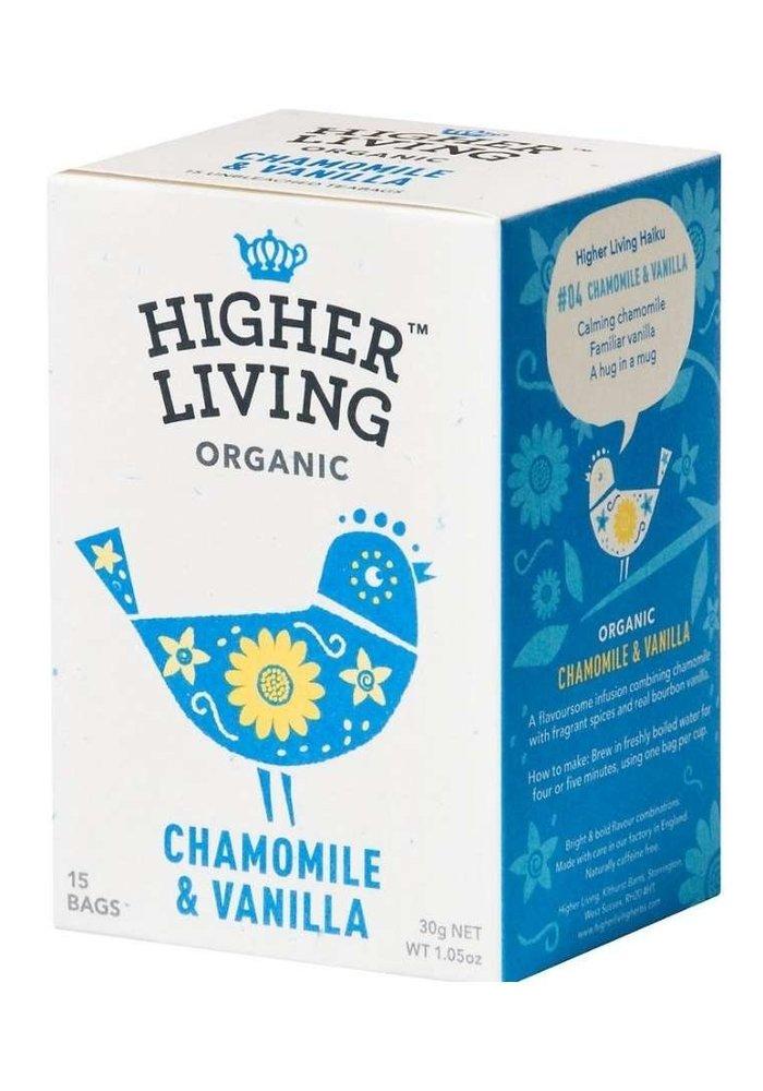 Chamomile & Vanilla Organic Tea