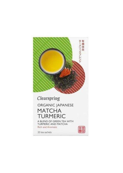 Clearspring Japanese Matcha Turmeric - Organic