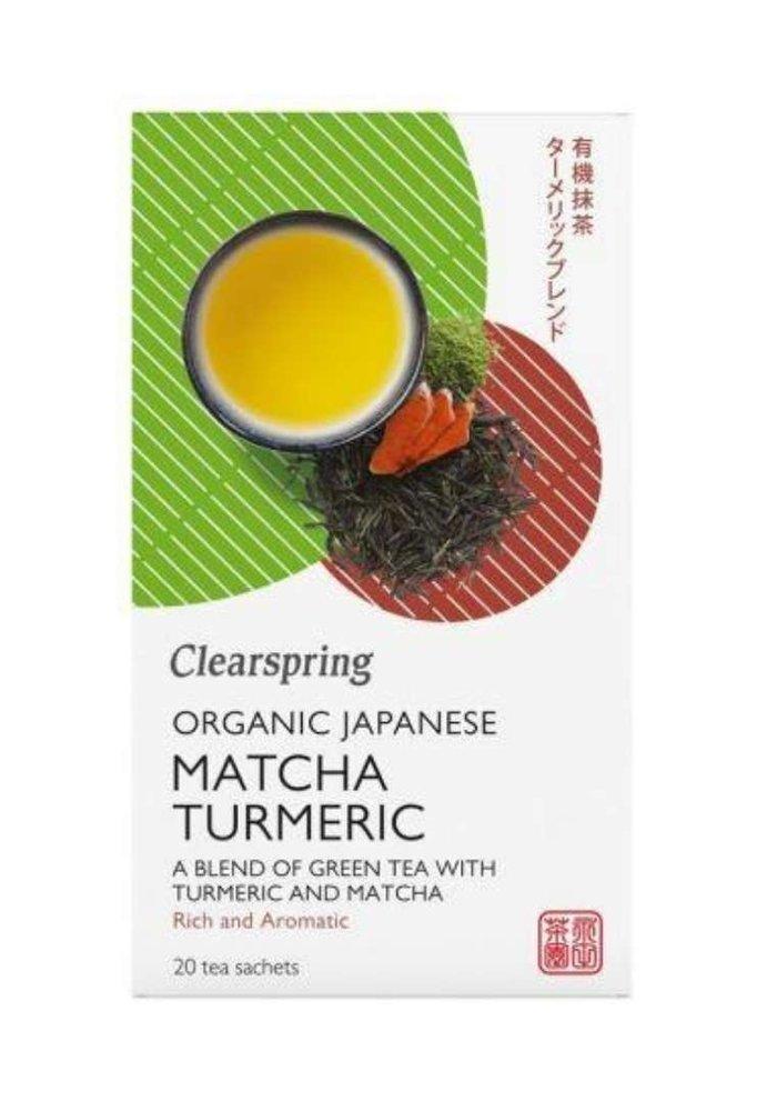 Japanese Matcha Turmeric - Organic