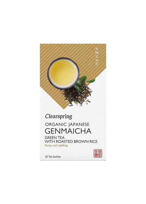 Clearspring Japanese Genmaicha Tea - Organic