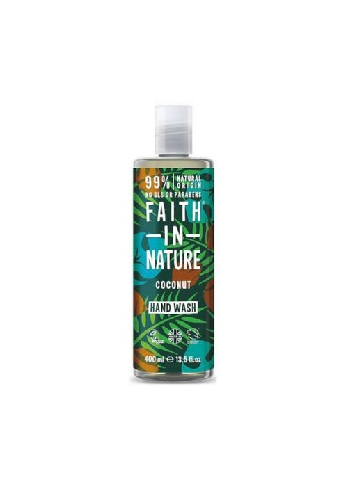 Faith In Nature Hand Wash: Coconut 400ml