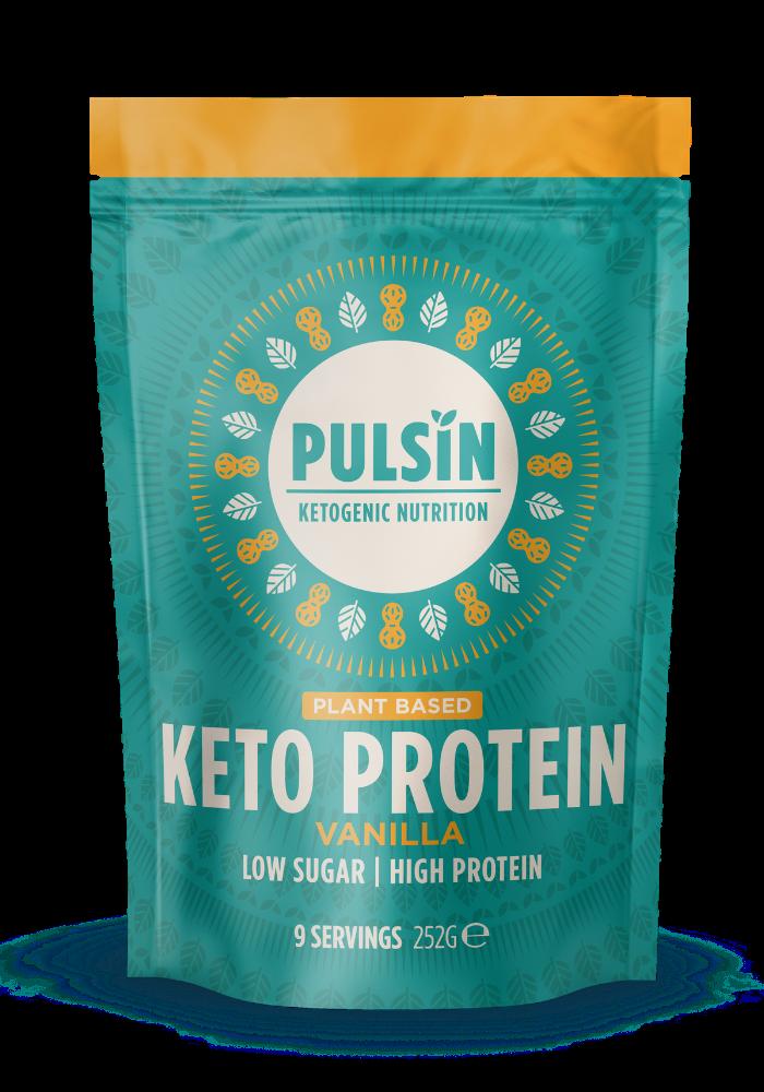 Vanilla Keto Protein Powder 252g